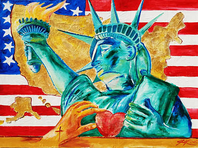 Painting - Americas Restoration by Jennifer Page