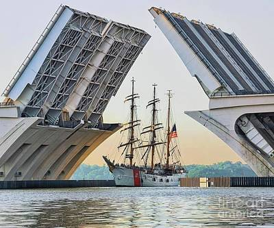 Photograph - America's Tall Ship by John S