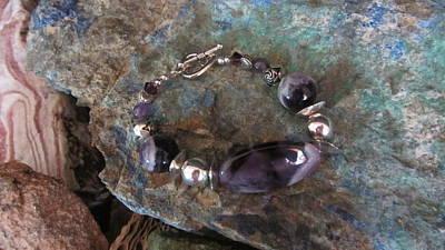 Jewelry - Amethyst #b015 by Barbara Prestridge
