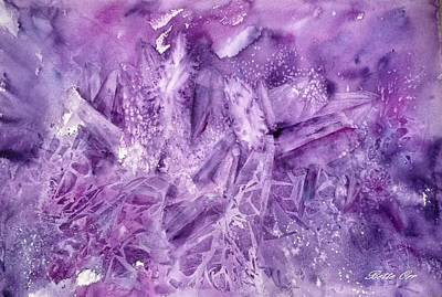 Painting - Amethyst by Bette Orr