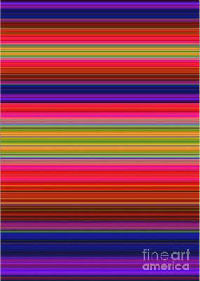 Pop Art Rights Managed Images - Amethyst Blanket Royalty-Free Image by Pamela Johnson Design