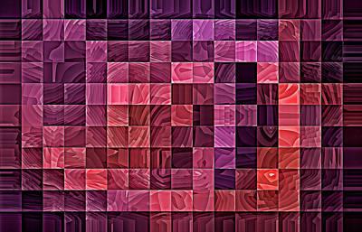 Digital Art - Amethyst Caves by Doug Morgan