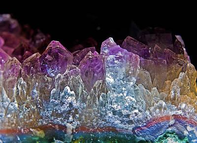 Semiprecious Photograph - Amethyst by Jim DeLillo