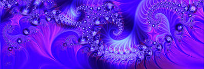 Digital Art - Amethyst  by Lori Grimmett