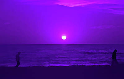Photograph - Amethyst Peaceful Evening by Aimee L Maher Photography and Art Visit ALMGallerydotcom