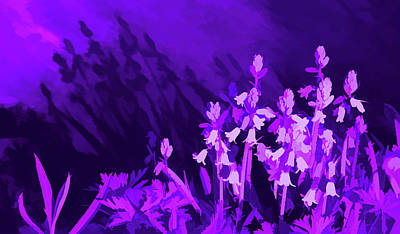 Photograph - Amethyst Shadows by Aimee L Maher Photography and Art Visit ALMGallerydotcom