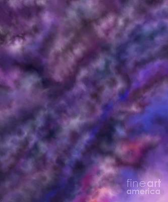 Digital Art - Amethyst Sky by Alisha at AlishaDawnCreations