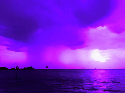 Photograph - Amethyst Storm Approaching by Aimee L Maher ALM GALLERY