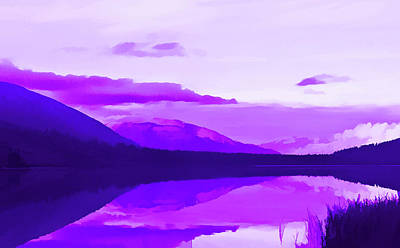 Photograph - Amethyst Summit Lake Alaska by Aimee L Maher ALM GALLERY
