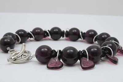 Sterling Silver Bracelet Jewelry - Amethystos by Jerri Nielsen