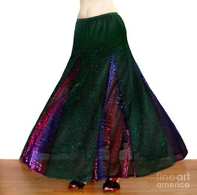 Ameynra Design. Sparkling Skirt 088 Art Print