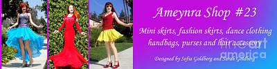 Ameynra Shop 23. Promo Banner 043 Art Print by Sofia Metal Queen