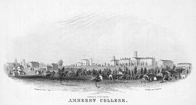 Amherst College, 1863 Art Print by Granger