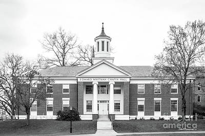 Photograph - Amherst College Chapin Hall by University Icons