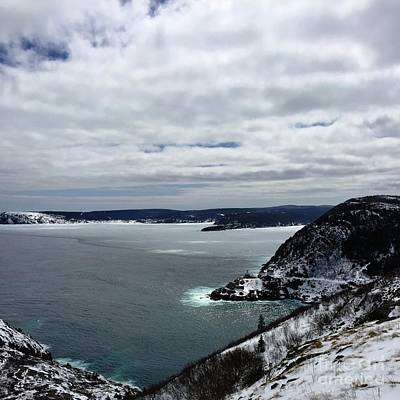 Photograph - Amherst Rock St. John's Nl by Barbara Griffin