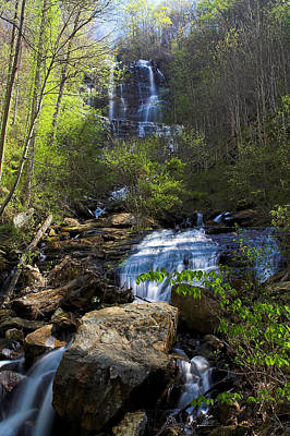 Art Print featuring the photograph Amicalola Falls by Dan Wells