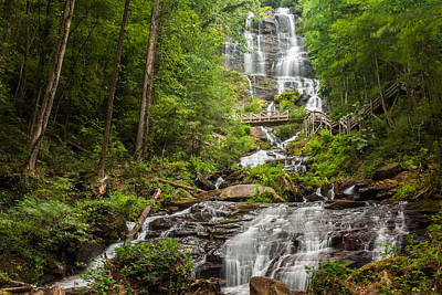 Photograph - Amicalola Falls by Michael Sussman