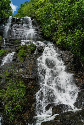 Photograph - Amicalola Falls Waterfall Georgia by Lawrence S Richardson Jr