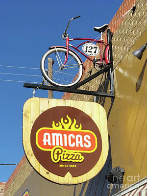 Photograph - Amicas Pizza by Tony Baca