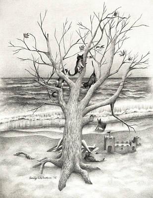 Amidst My Storm Art Print by Emily Wickerham