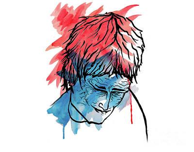 Depression Mixed Media - Amigo The Macho Slayer by Danaan Andrew