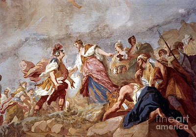 Aodcc Painting - Amigoni: Dido And Aeneas by Granger