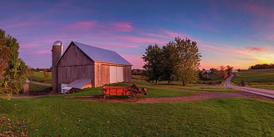 Photograph - Amish Country  by Emmanuel Panagiotakis
