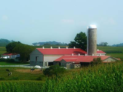 Amish Photograph - Amish Country Farm by Lori Seaman