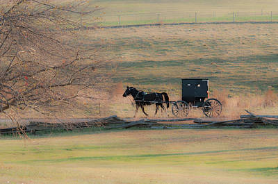 Amish Photograph - Amish Dream by David Arment