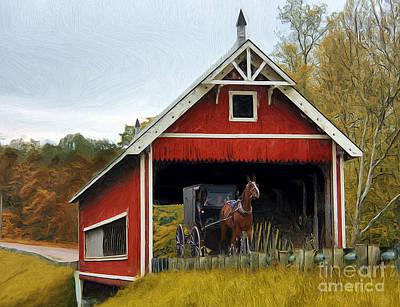 Amish Era Art Print
