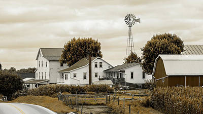 Photograph - Amish Farm #1 by Stephen Stookey