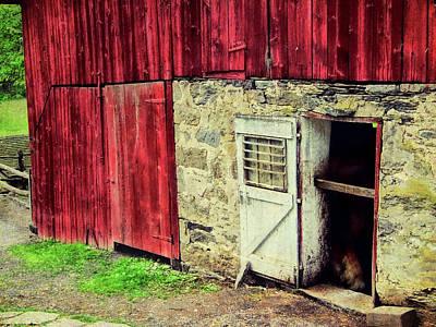 Photograph - Amish Farm by JAMART Photography