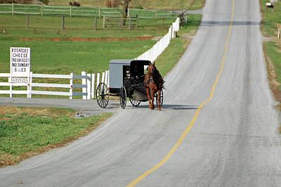 Amish Life Art Print by Joyce Huhra
