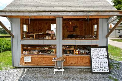 Photograph - Amish Roadside Stand by Tana Reiff