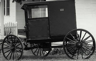 Photograph - Amish Wagon _pa by Kathleen K Parker