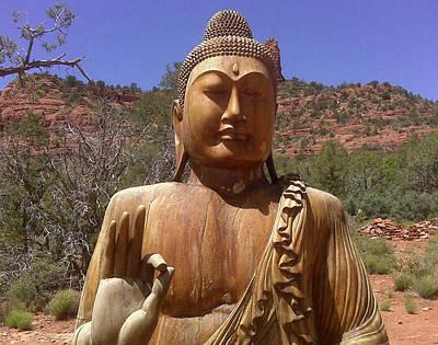 Photograph - Amitabha by Beth  Cornell