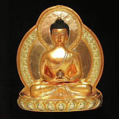Sculpture - Amitabha by Martin Walker-Watson Gilding Arts Studio