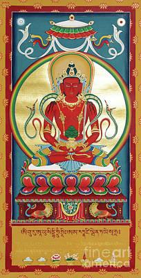 Bodhisattva Painting - Amitayus by Sergey Noskov