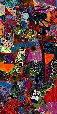Tapestry - Textile - Amma by Gwendolyn Aqui-Brooks