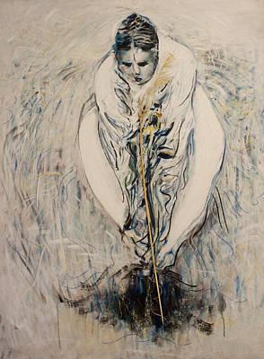 Amma Planting Art Print by Alexander Carletti