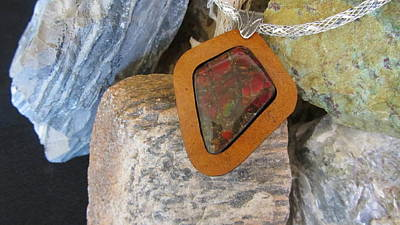 Ammolite Ff39 Original by Barbara Prestridge