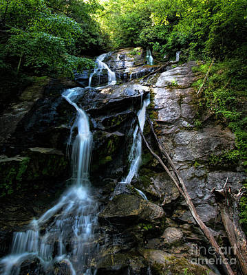Photograph - Ammon Creek Falls by Barbara Bowen