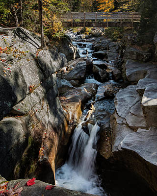 Photograph - Ammonoosuc River Falls by Jim Cheney