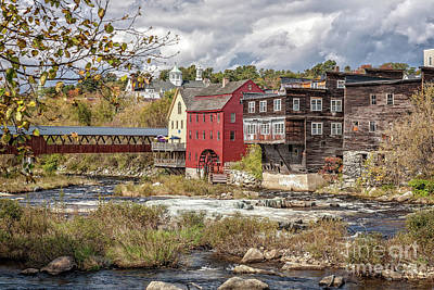 Photograph - Ammonoosuc River by Gene Healy