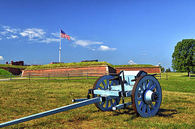 Photograph - Ammunition Caisson At Fort Mchenry National Monument And Historic Shrine by Bill Swartwout