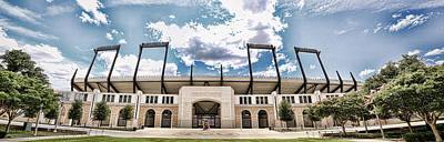Amon Carter Stadium - Tcu Art Print