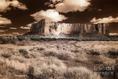 Digital Art - Among Sacred Mesas by William Fields