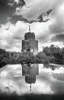 Photograph - Among The City Clouds by Cate Franklyn