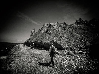 Photograph - Among The Rocks by Marvin Borst