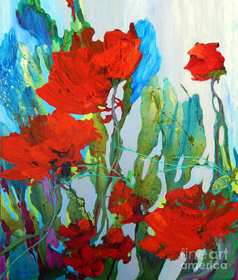 Among The Roses Original by Sharon Nelson-Bianco